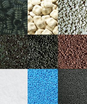 Materiales filtrantes